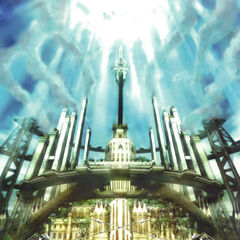Poster of Akademeia for <i>Final Fantasy Agito XIII</i>.