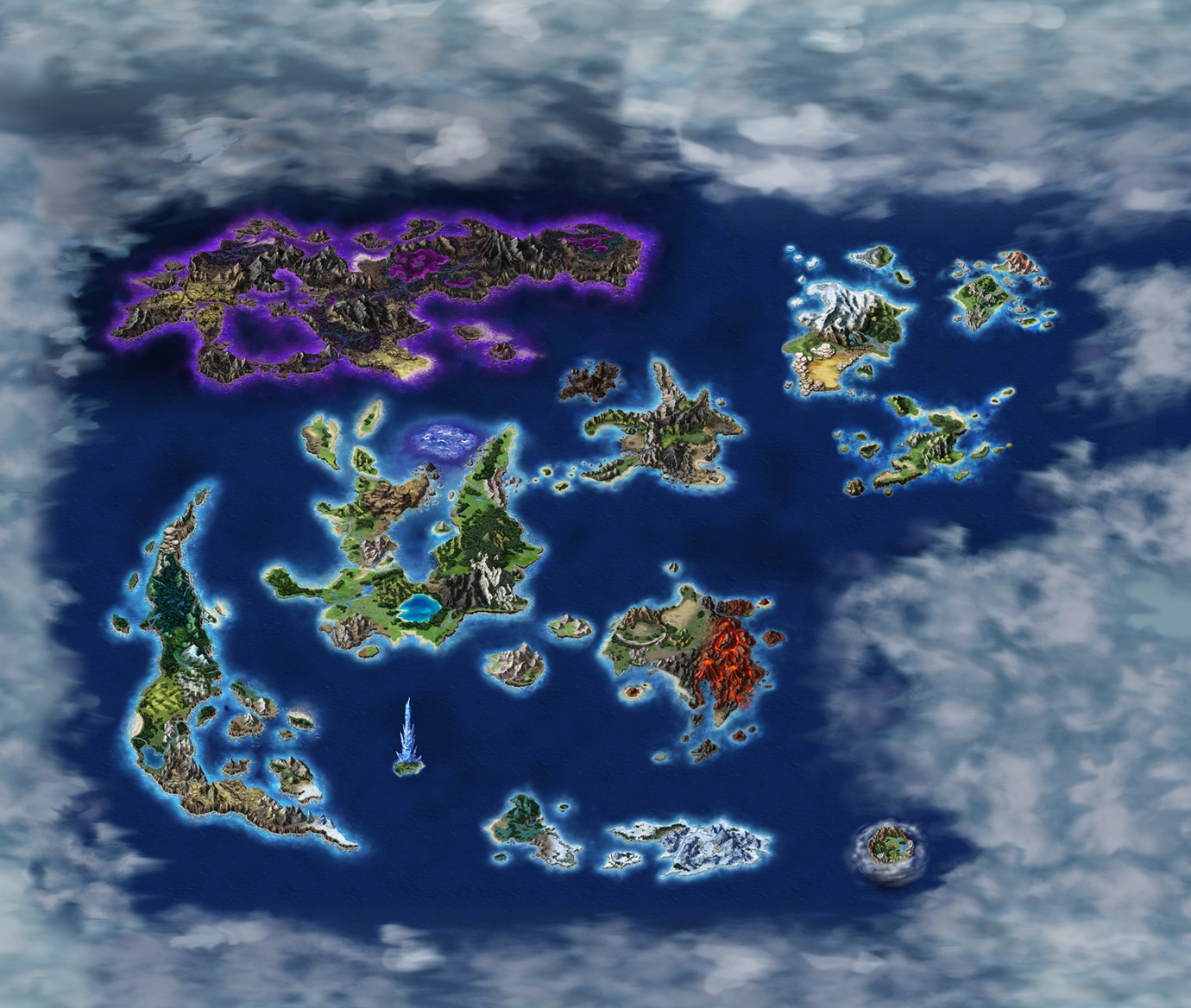 Image FFBE World Travel Mappng Final Fantasy Wiki FANDOM - Full world map