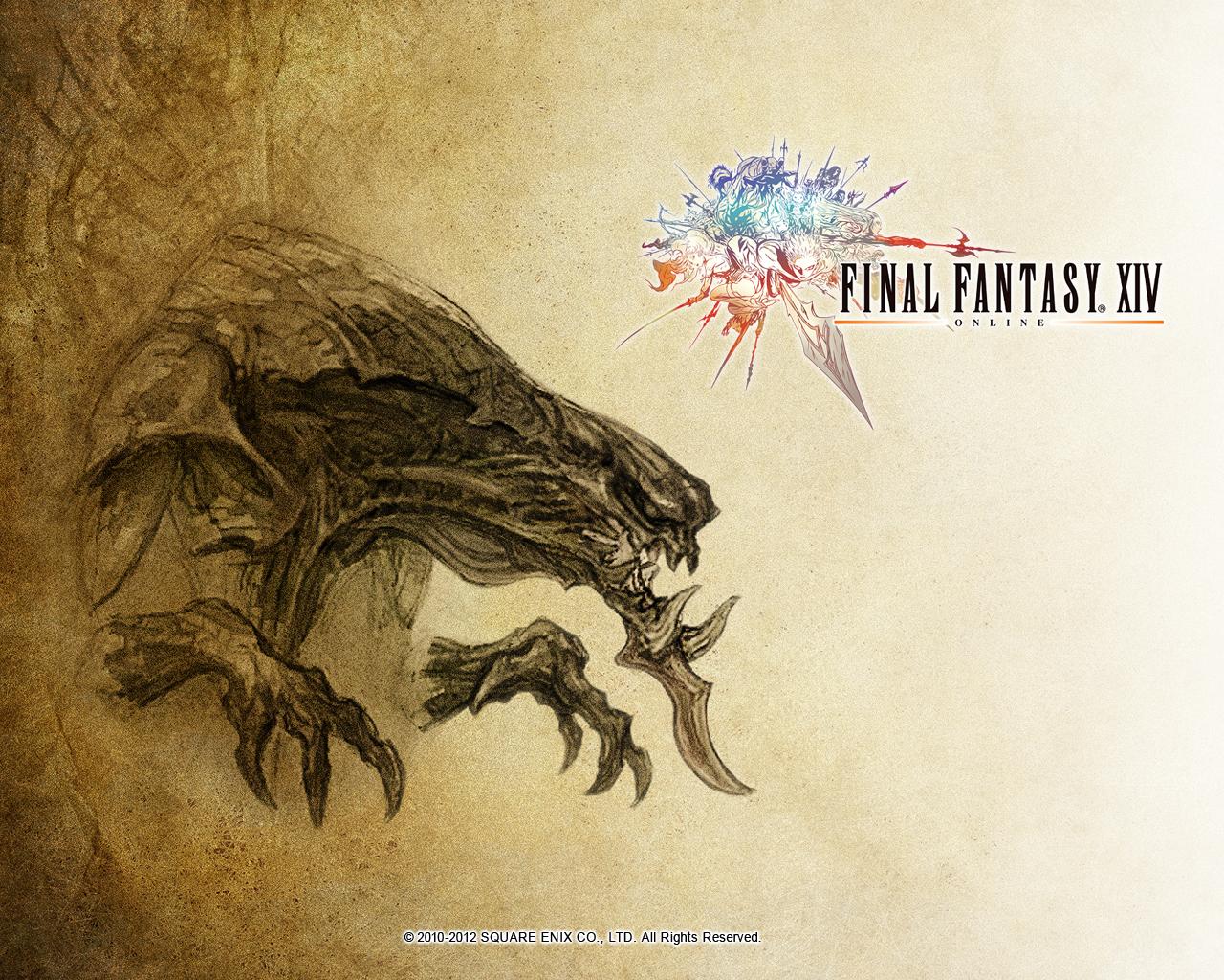Image - FFXIV Wallpaper 1280x1024 Demon Wall.jpg | Final Fantasy ...