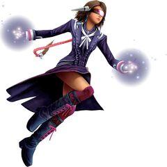 Yuna as a Psychic.