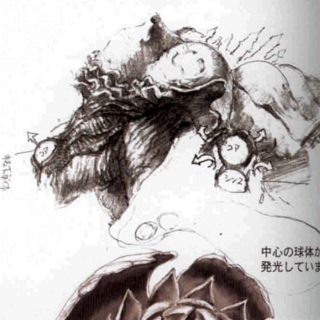Artwork from <i>Final Fantasy X Ultimania Omega</i>.