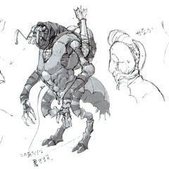 Concept art of the Antica.