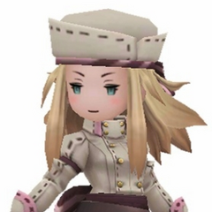 Edea as a Patissier.