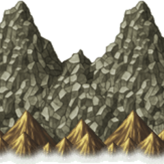 Mount Hobs on the overworld in <i>Final Fantasy IV: Complete Collection</i> (PSP).