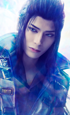 Lasswell portrait in Final Fantasy Brave Exvius The Musical