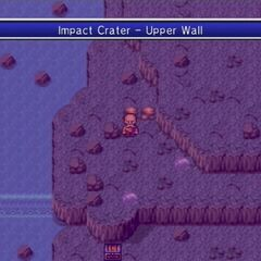 Impact Crater on the planet (Wii).