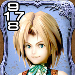 Zidane from <i>Final Fantasy IX</i>.