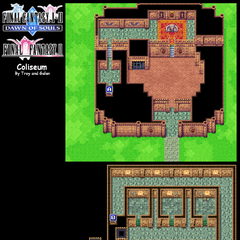 Coliseum's Map (GBA).