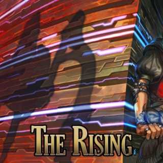 The Wandering Minstrel in the 2017 Rising event.