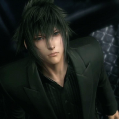 Noctis before leaving the party.