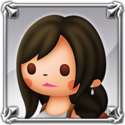 DFFNT Player Icon Tifa Lockhart TFF 001