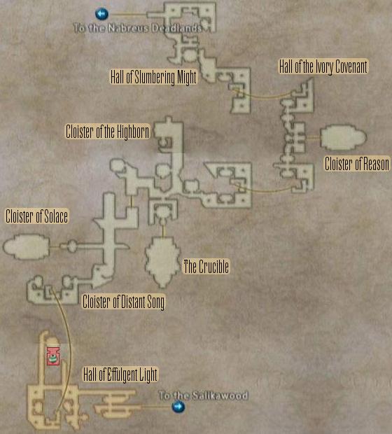 FF12 Map - Necrohol of Nabudis