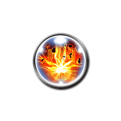 Icon for Thunder Explosion Attack (雷神爆裂撃).