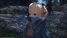 FFXIV Lalai without hat