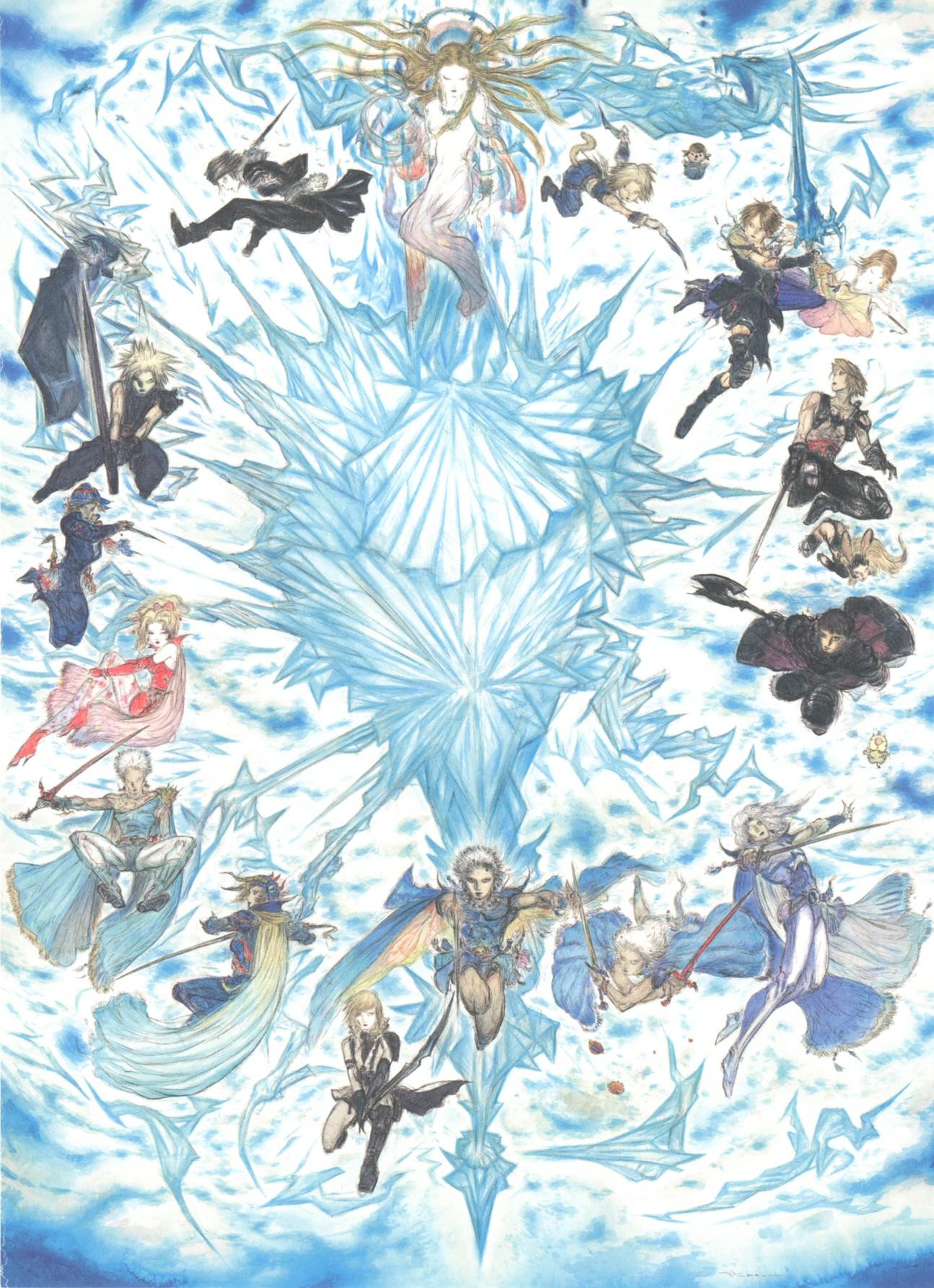 Yoshitaka Amano Final Fantasy Wiki Fandom