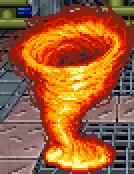Fiamma liquida tornado