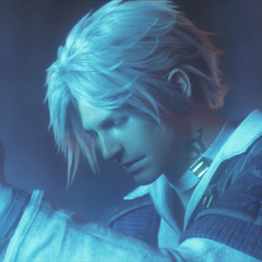 Thancred praying to <a href=