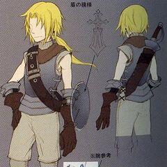 Arte de <i>Dissidia Final Fantasy</i>.