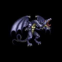 Bahamut sprite from <i>Final Fantasy IV</i> (PSP).