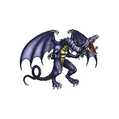 Спрайт Бахамута в <i>Final Fantasy IV</i> (PSP).