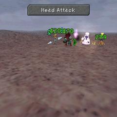 Head Attack.