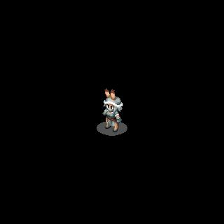Viera Sniper sprite in <i>Final Fantasy Tactics S</i>.