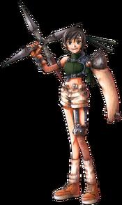FFVII character Yuffie Kisaragi