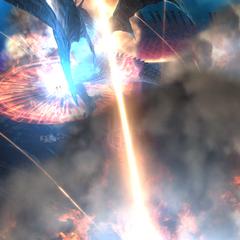 Bahamut Prime's Megaflare in <i><a href=