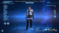 FFXIV Character creation