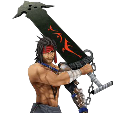 Jecht's alternate outfit, based on his <i>Final Fantasy X</i> design.