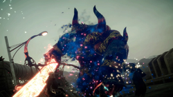 Red Giant spawns in FFXV