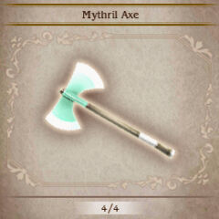 Mythril Axe in <i><a href=
