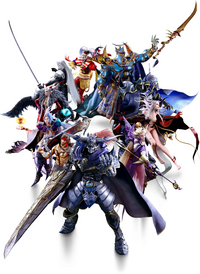 Dissidia Final Fantasy NT Main Villains