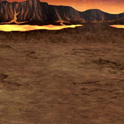Fundo de batalha no Submundo (iOS).