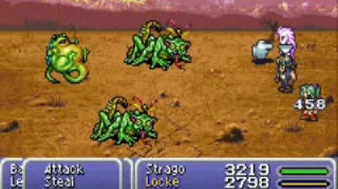 Final Fantasy VI Advance Rippler glitch