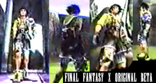 Final Fantasy X - Original Beta - Tidus Black Hair