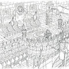Castle concept art.