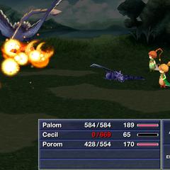 Pyroblast <i>Final Fantasy IV</i> (iOS).
