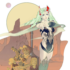 Promotional artwork for Rydia's Tale.
