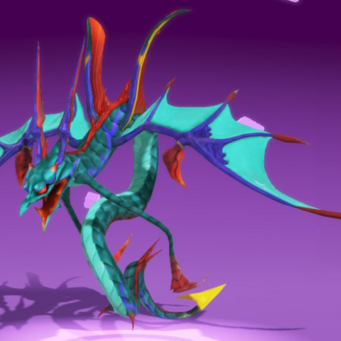 Leviathan as she appears in-game.