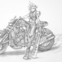 Sketch of Cloud on the Hardy-Daytona.
