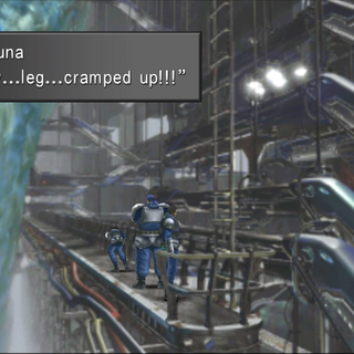 Laguna's leg cramp after using all latches as intended.