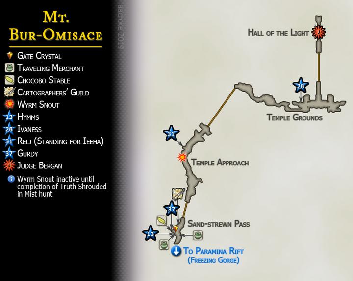 Map 20 Mt Bur Omisace