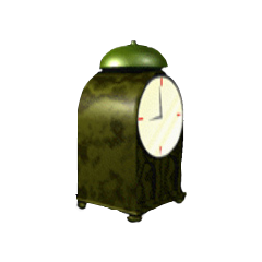 Weekend Clock <span class=