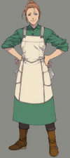 Elmyra from Final Fantasy VII Remake artwork