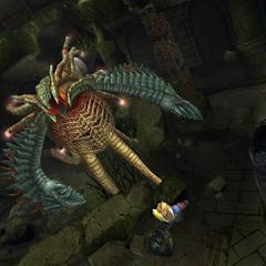Tidus escapes from Geosgaeno.