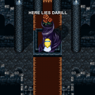 Darill's grave (iOS/Android/PC).