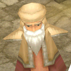 Render of a Damcyan old man (DS/iOS).