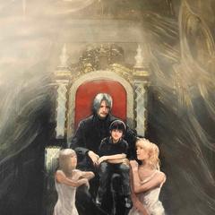 Король Ноктис и его семья.