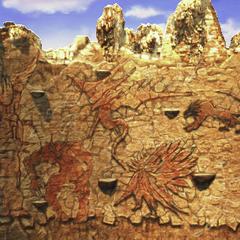 Muro de invocación.